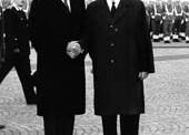 Nixon contestato a Roma