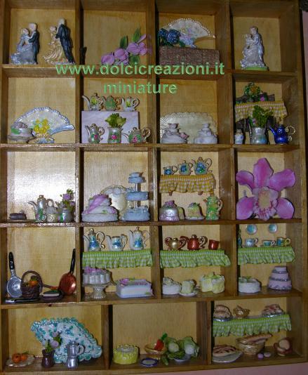 mini scaffali per oggetti in miniatura