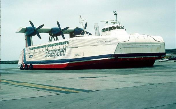 Hovercraft Naviplane N500