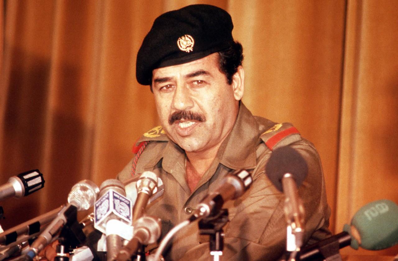 Saddam Hussein al potere in Iraq