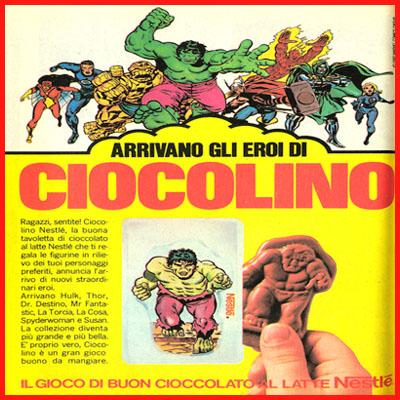 Ciocolino nestlé